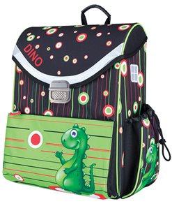 Školní aktovka Easy - Dino - zelená