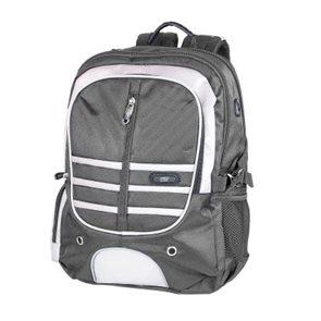 Školní batoh Easy - šedo-bílý