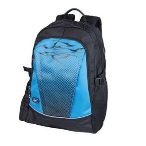 Školní batoh Easy - tyrkysovo-černý