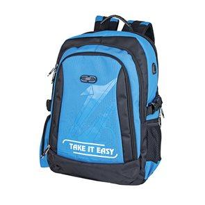 Školní batoh Easy - černo-modrý