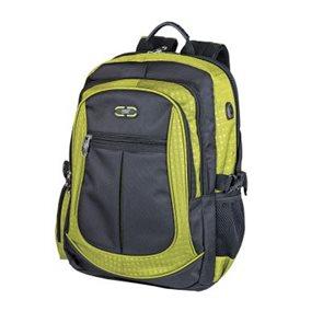Školní batoh Easy - černo-zelený