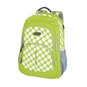Sportovní batoh Easy - zelený se smajlíky