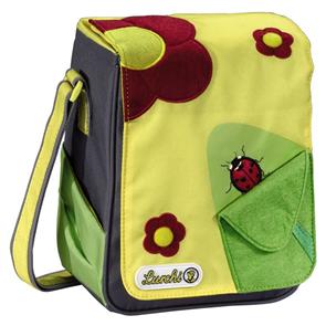 Dětská taška Lurchi - Kytky - 5 l