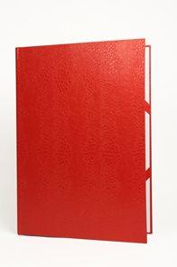 Desky na diplomy a vysvědčení - červené