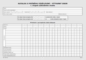 Katalog o průběhu studia pro I. stupeň - výtvarný obor