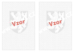 Bianco vysvědčení A3 - malý státní znak +  lipové listy s vodoznakem, rozložené na A3