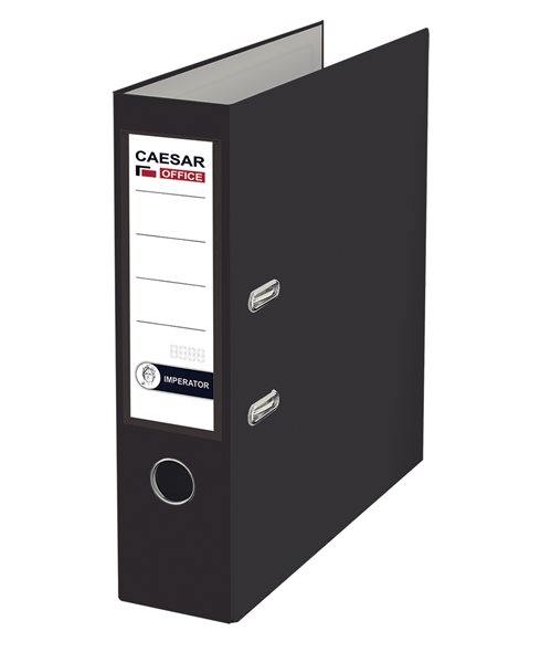CAESAR OFFICE IMPERATOR Pořadač pákový A4 7,5 cm - černý