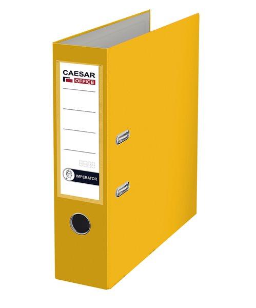 CAESAR OFFICE IMPERATOR Pořadač pákový A4 7,5 cm - žlutý