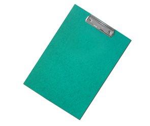 CAESAR OFFICE Podložka psací s klipem A4 RainbowLine prešpán - zelená