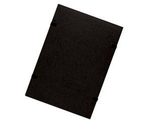 CAESAR OFFICE Spisové desky s tkanicí A4 RainbowLine prešpán - černé