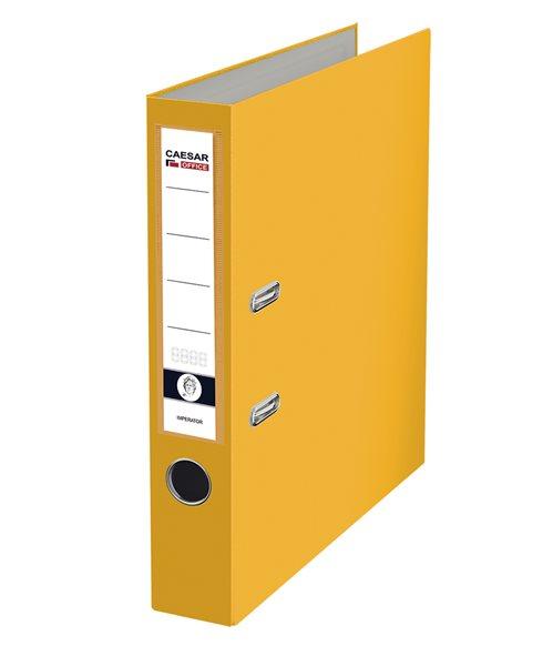 CAESAR OFFICE IMPERATOR Pořadač pákový A4 5 cm - žlutý