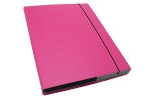 CAESAR OFFICE IMPERATOR Desky s boxem A4 3 cm - růžová