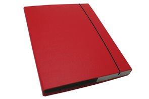 CAESAR OFFICE IMPERATOR Desky s boxem A4 3 cm - červená