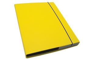 CAESAR OFFICE IMPERATOR Desky s boxem A4 3 cm - žlutá