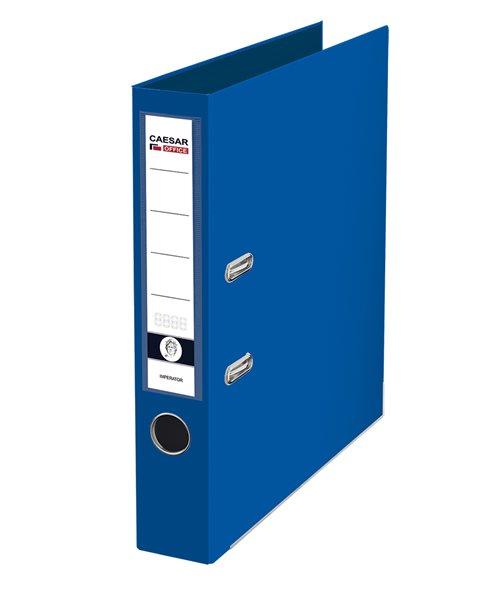 CAESAR OFFICE IMPERATOR Pořadač pákový A4 5 cm, lišty - modrý