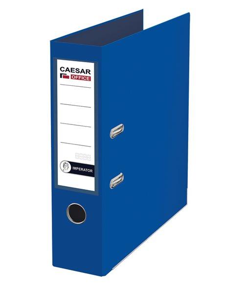 CAESAR OFFICE IMPERATOR Pořadač pákový A4 7,5 cm, lišty - modrý