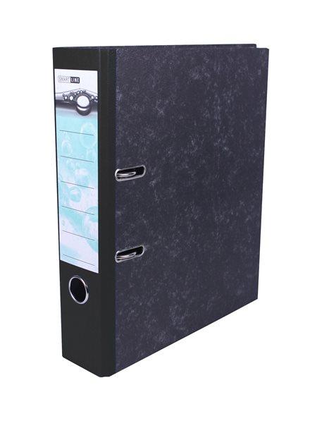 Pořadač pákový 8cm papír - černý