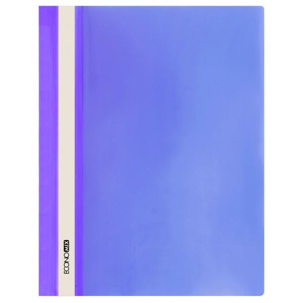 Rychlovazač ECONOMIX A4 plastový lesklý 1 ks - fialový