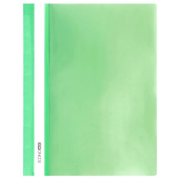 Rychlovazač ECONOMIX A4 plastový lesklý 1 ks - sv.zelený