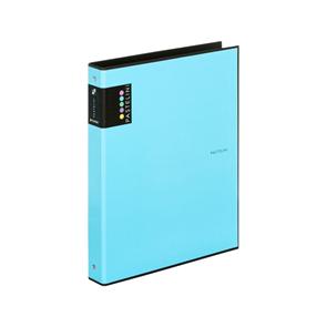 Karton PP PASTELINi Pořadač 4kroužek A4, R25, lamino - modrý