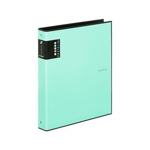 Karton PP PASTELINi Pořadač 4kroužek A4, R25, lamino - zelený