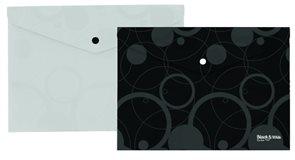 Karton Black & White Desky s drukem A4  - bílé