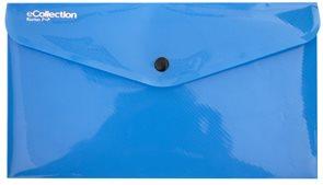Karton E-collection Desky s drukem DL - modré