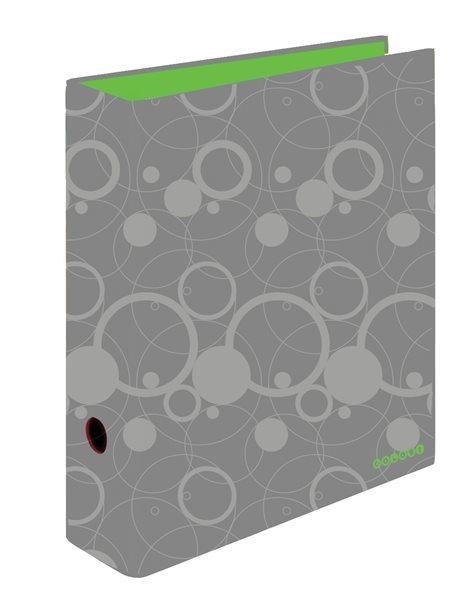 PP Pořadač pákový A4 7 cm Colori - šedo/zelený