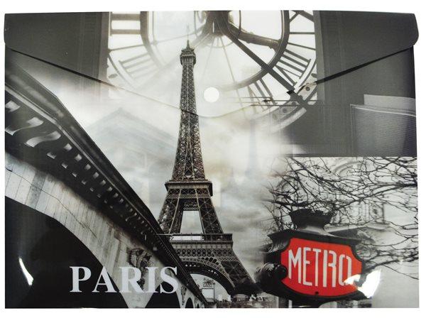 Karton PP Desky s drukem A4 - Paris