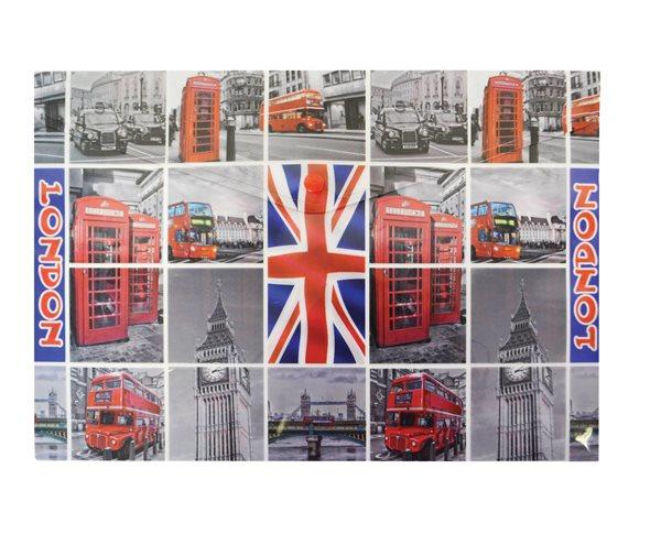 Karton PP Desky s drukem A4 - London
