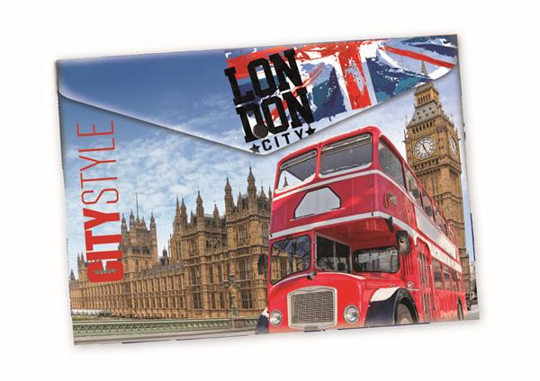 Karton PP Desky s drukem A4 - Londýn