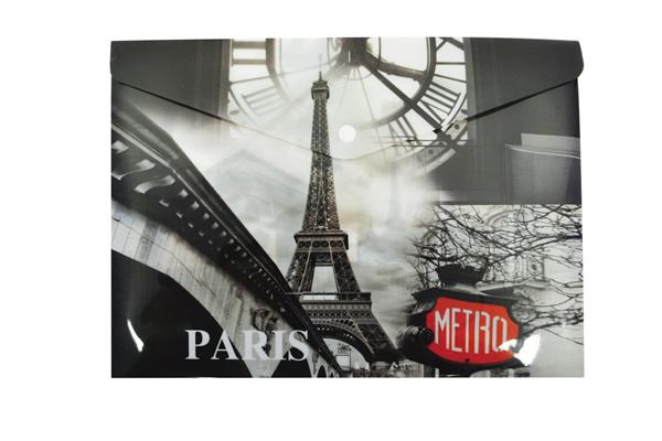 Karton PP Desky s drukem A5 - Paris
