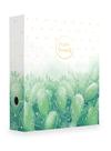 Karton PP Pořadač pákový A4 7 cm lamino - Romantic kaktus