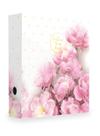 Karton PP Pořadač pákový A4 7 cm lamino - Romantic magnolie