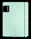 Karton PP PASTELINi Desky s gumou A4 3 klopy, lamino - zelená