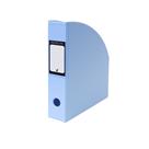 Karton PP PASTELINi Stojan na časopisy A4 PVC 7 cm - modrý