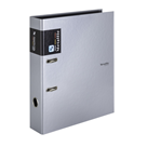 Karton PP Metallic Pořadač pákový A4 7 cm lamino - stříbrná
