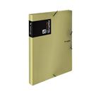 Karton PP Metallic Krabice s gumou A4 PP - zlatá
