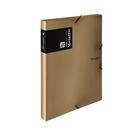 Karton PP Metallic Krabice s gumou A4 PP - měděná