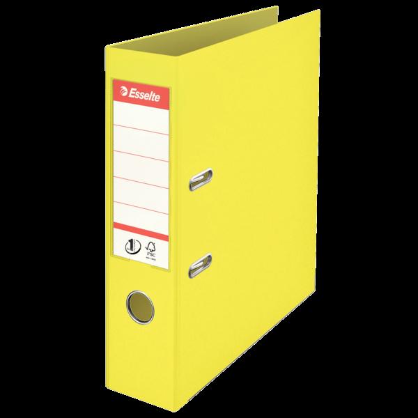 Pákový pořadač Esselte No.1 Colour'Ice A4 7,5 cm - ledově žlutá