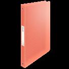 Desky s 4kroužkovým mechanismem Esselte Colour'Ice A4 2,5 cm - ledově meruňková