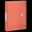 Box na spisy Esselte Colour'Ice A4 2,5 cm - ledově meruňková