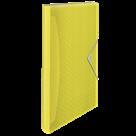 Aktovka na spisy Esselte Colour'Ice A4, 6 přihrádek - ledově žlutá