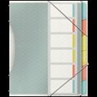 Třídící kniha Esselte Colour'Ice A4, 6 záložek
