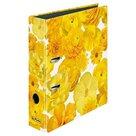 Herlitz Pořadač A4/8 cm lamino - Žluté květy