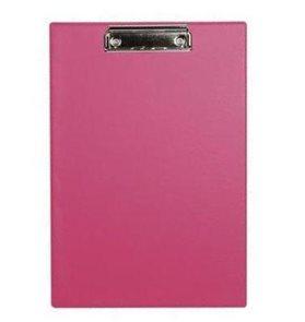 Victoria Psací podložka s klipem A4 PVC - růžová
