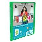 ELBA Polyvision Pořadač A4 PP 4 kroužky 2 cm - zelená