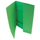 HIT Odkládací mapa A4 tříklopá Classic - zelená