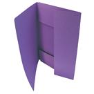 HIT Odkládací mapa A4 tříklopá Classic - fialová
