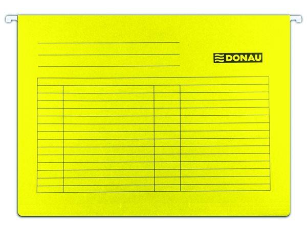 Donau Závěsné desky A4 - žluté, Sleva 20%